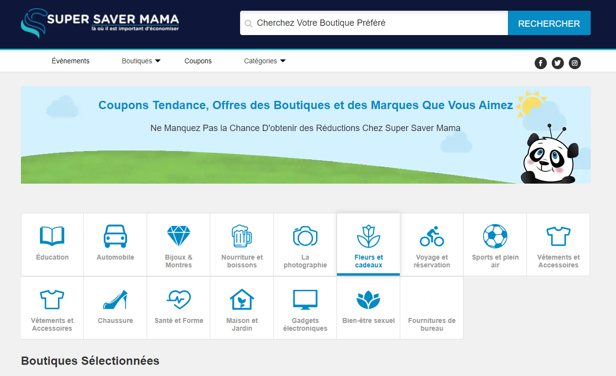 SuperSaverMama (France) – All Coupons at One Place
